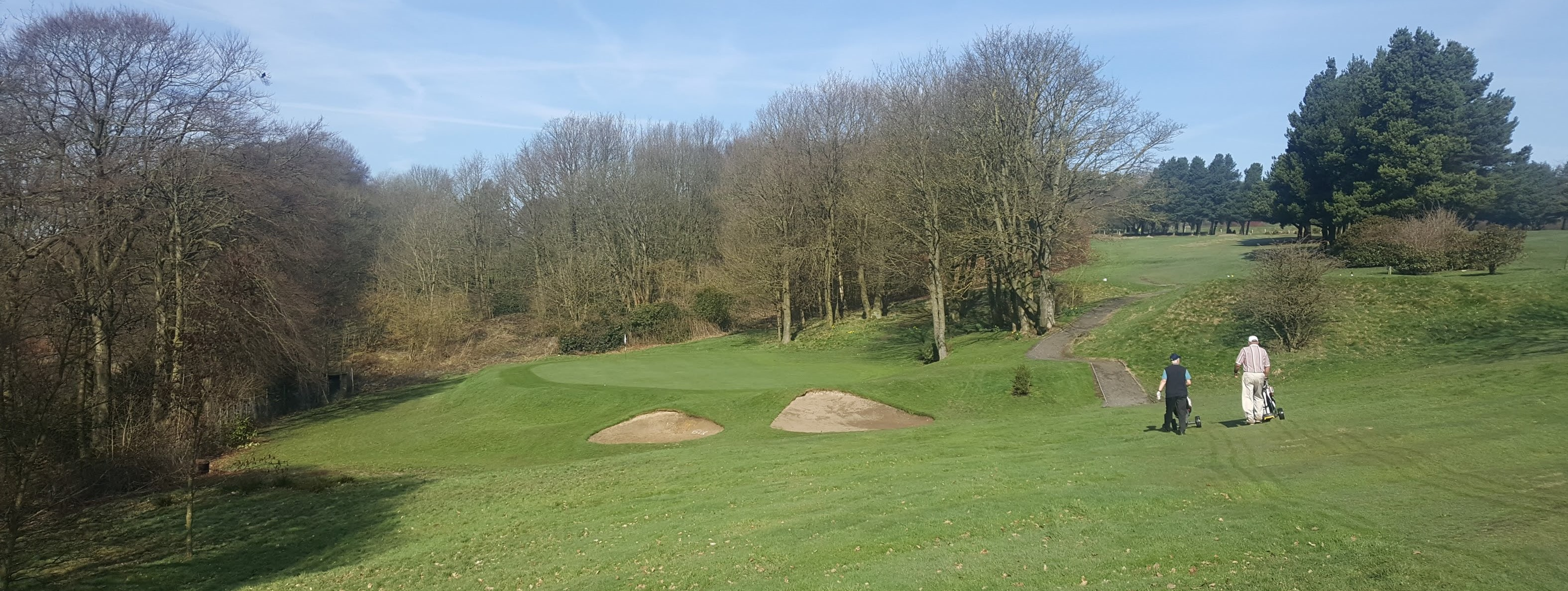 The 14th at West Bradford Golf Club, West Yorkshire