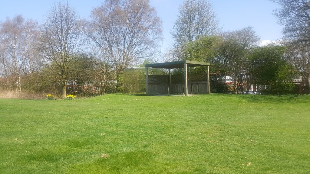 The driving range at West Bradford Golf Club is ideal for a pre-round warm up.