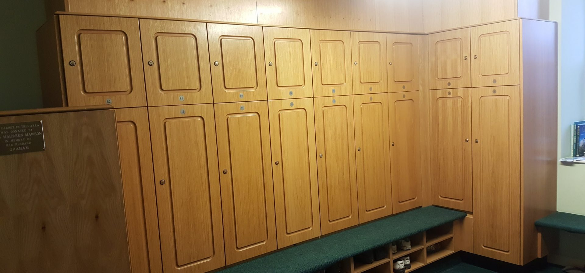 The Changing Rooms at West Bradford