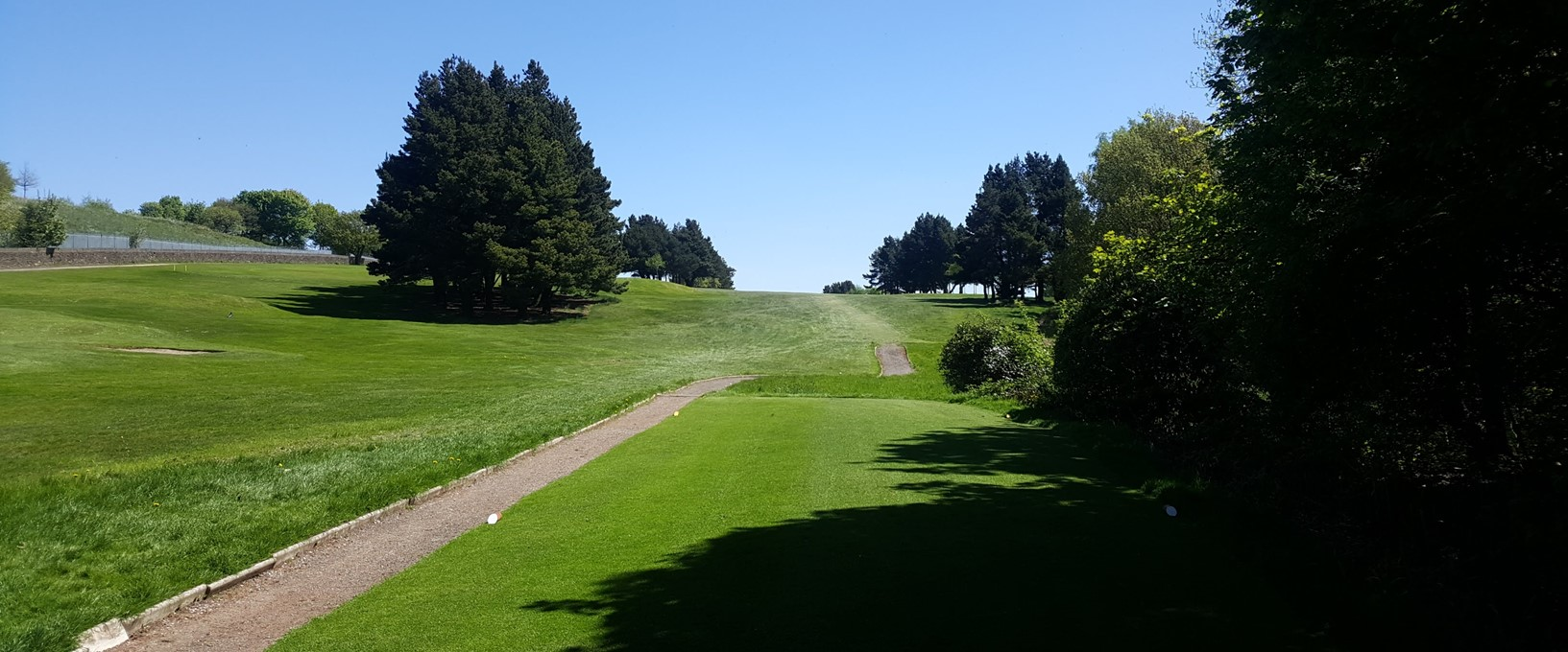 The 6th hole at West Bradford
