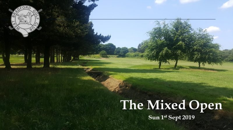The Mixed Open Golf Competition
