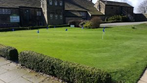 The Practice Putting Green at West Bradford Golf Club