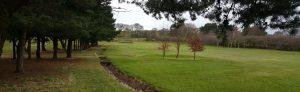 The 17th Fairway at West Bradford Golf Club.