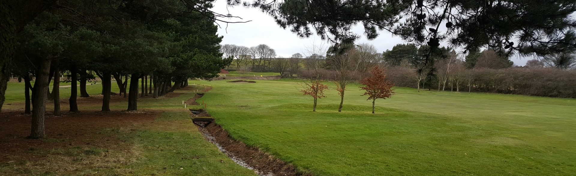 The 17th Fairway at West Bradford Golf Club.