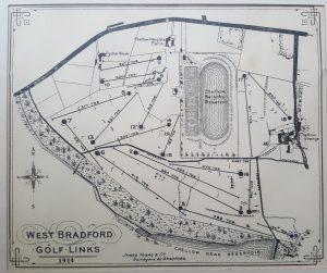 """West Bradford Golf Links"" Golf Course in West Yorkshire"
