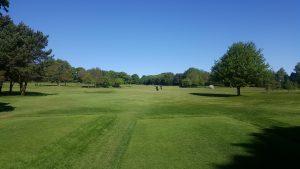 First Hole at West Bradford Golf Club