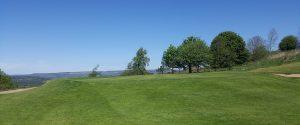 The 4th green at West Bradford Golf Club