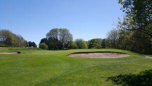 The 5th green at West Bradford Golf Club