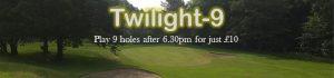 Twilight 9 Golf